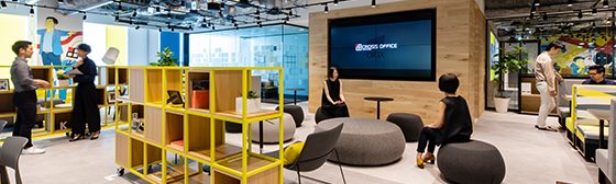 Serviced office operation business